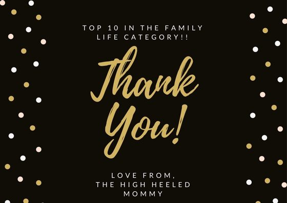 TOP 10 IN THE FAMILY LIFE CATEGORY